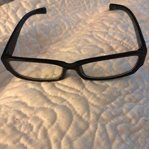Black fashion specs